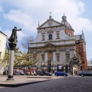 Church of St Peter and St Paul in Krakow, famous polish landmark