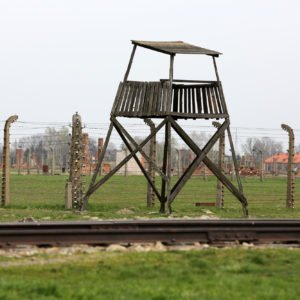 Auschwitz II Birkenau. Poland. The biggest nazi concentration camp in Europe and now the State Museum Auschwitz-Birkenau.